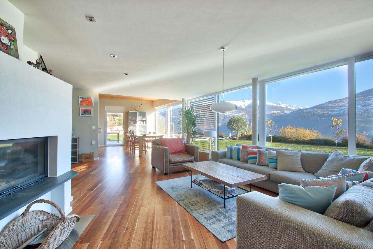 Splendide Villa contemporaine - Hauteurs de Sion picture 1