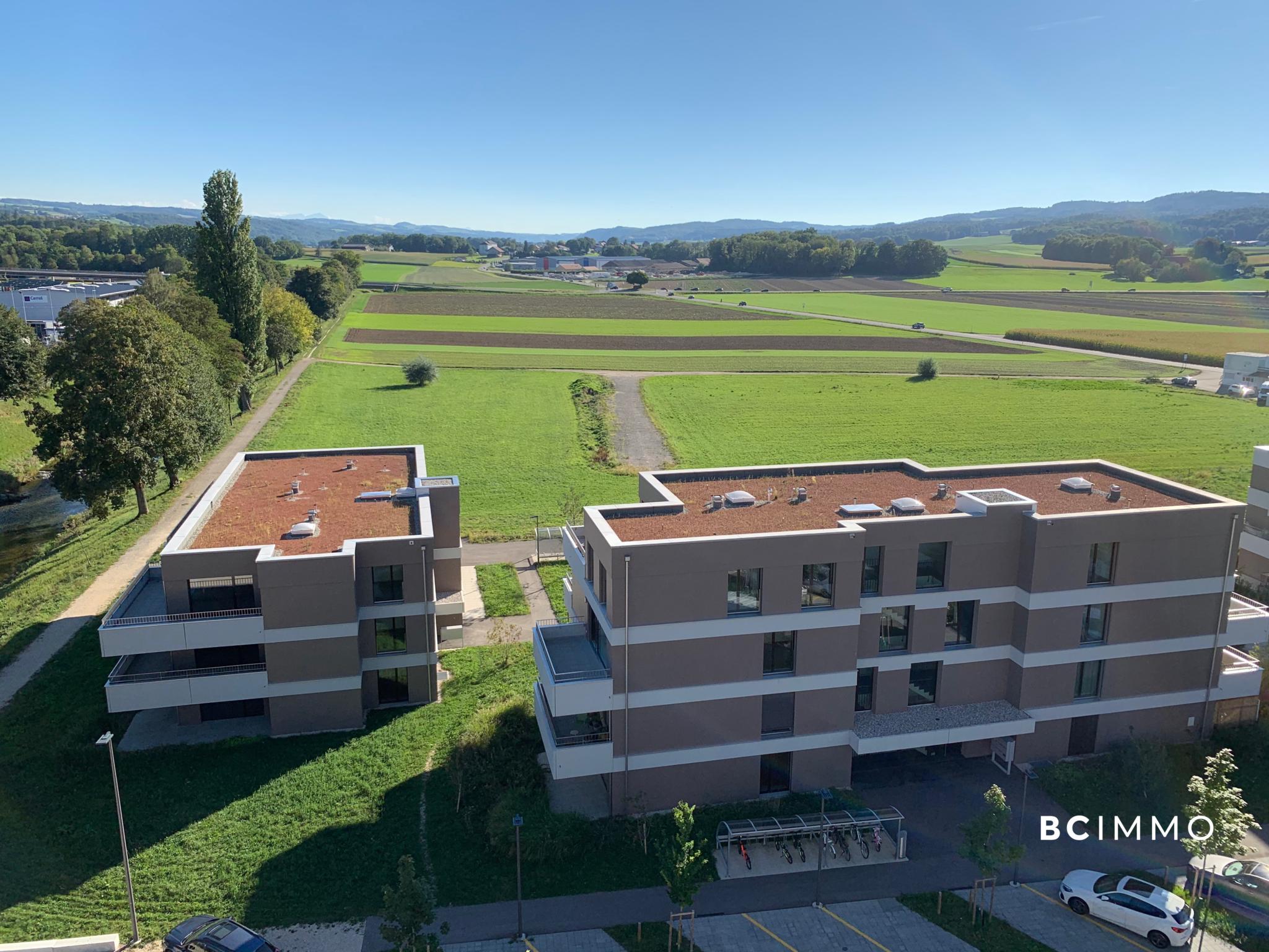 BC Immo - Spacieux - Grandes terrasses - Au calme - CELLA-1-09
