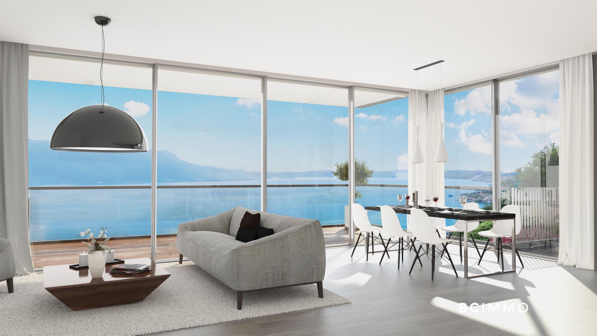 BC Immo - Appartement avec vue panoramique - Glion  - 1823HBVB-C101