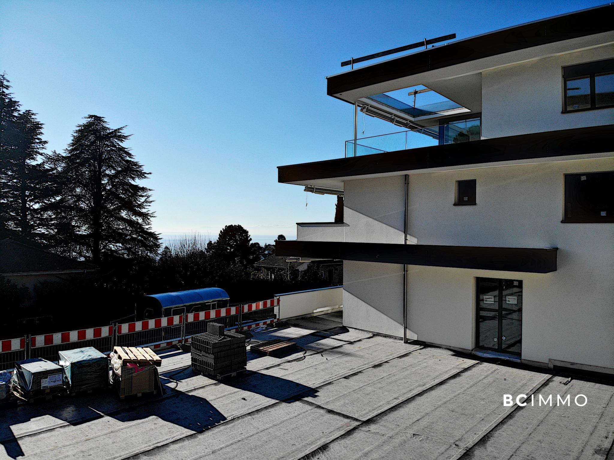 BC Immo - Magnifique appartement duplex neuf avec jardin - 1009A1VIDA