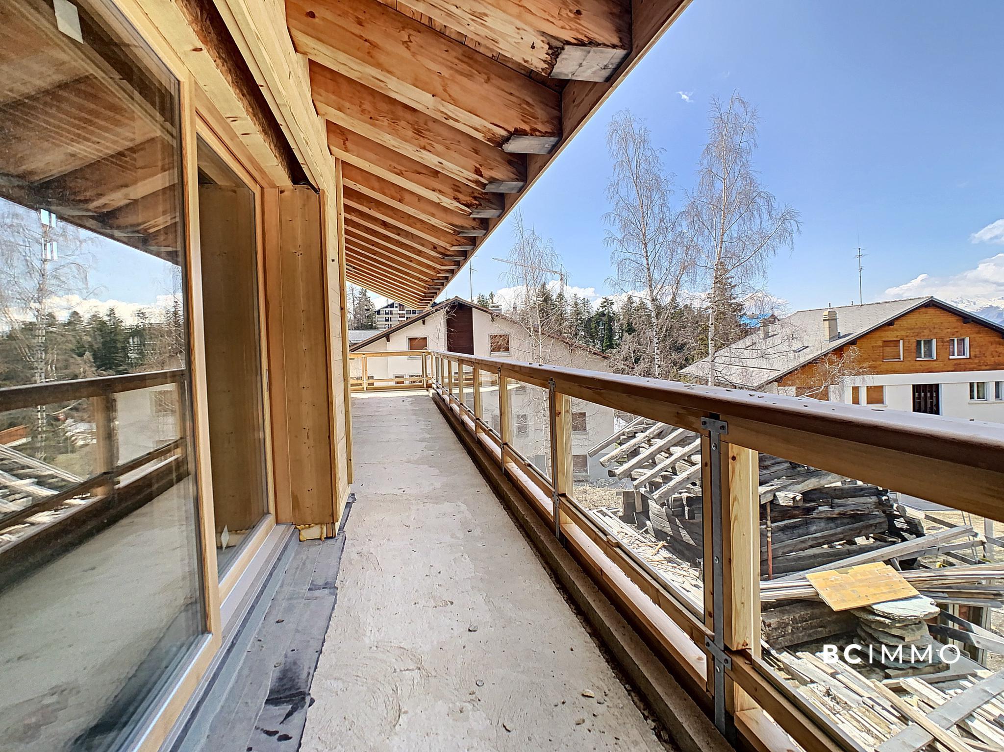 BC Immo - Luxueux appartement de 4.5 pièces à Crans-Montana - Les Mazots du Vallon - DC4AMON63