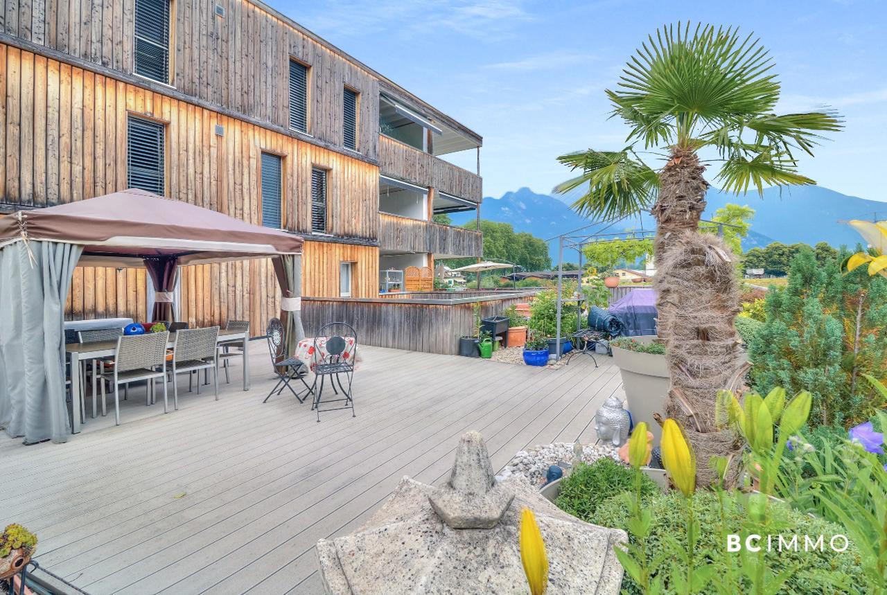 BC Immo - Moderne et spacieux appartement avec grande terrasse et loggia - 1896VOUVRY