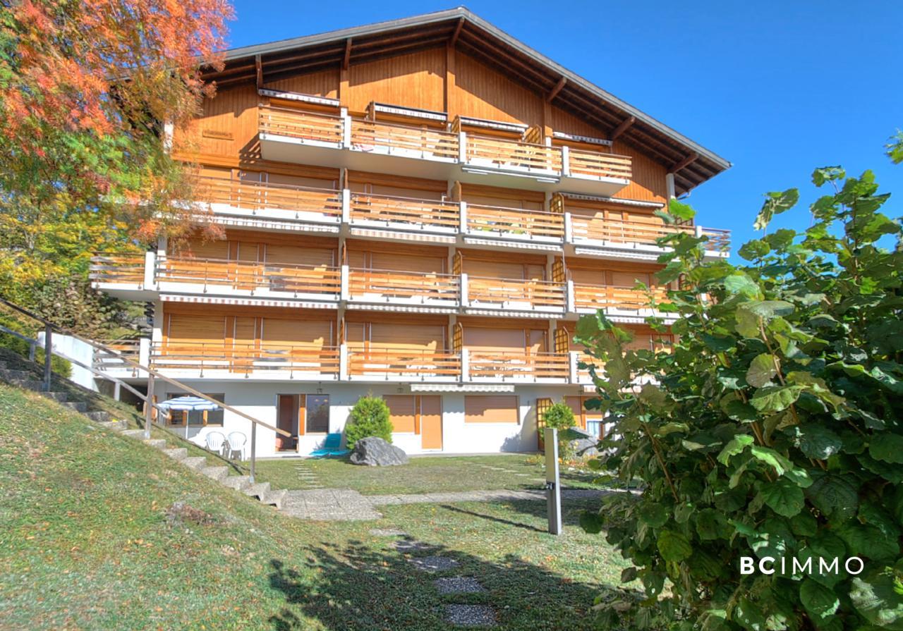 BC Immo - RESERVE - Charmant rez-de-jardin à proximité des Bains d'Ovronnaz - A1911GS