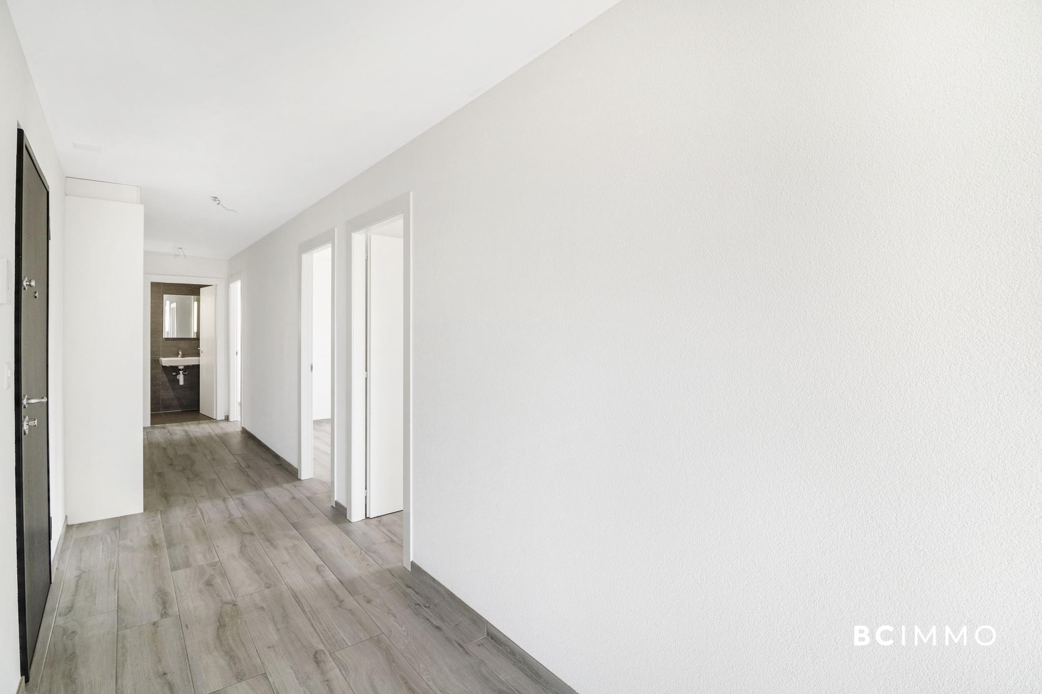 BC Immo - Récent appartement contemporain au coeur du charmant village d'Essertines-sur-Yverdon - 1417KG80