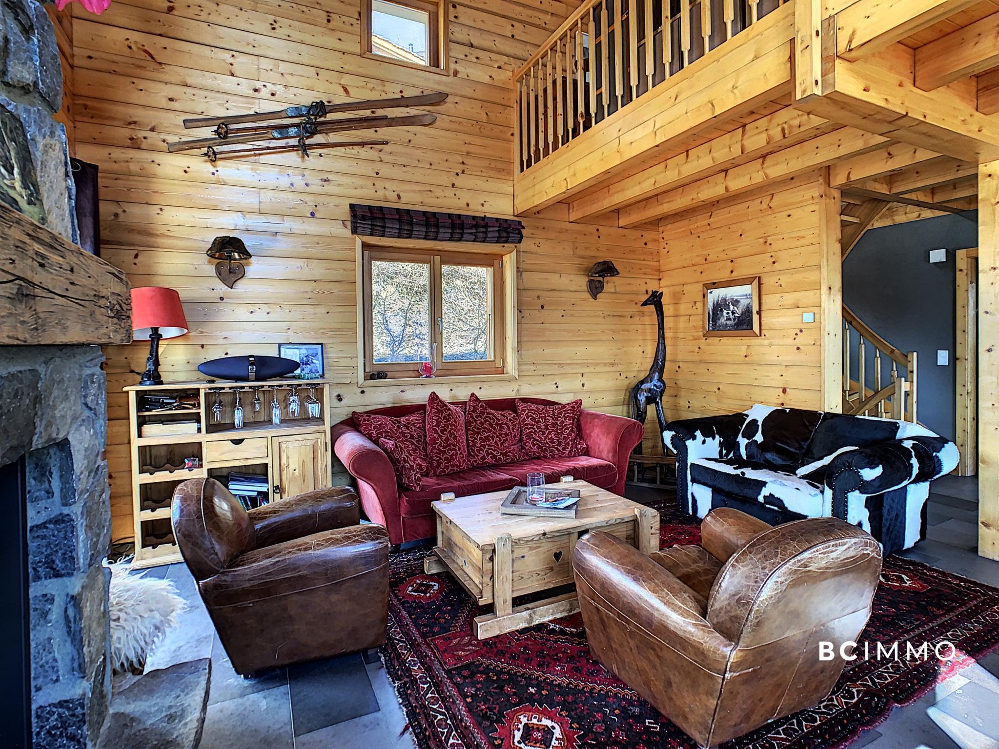 BC Immo - Magnifique chalet meublé idéalement situé aux Collons - ICE1988GS