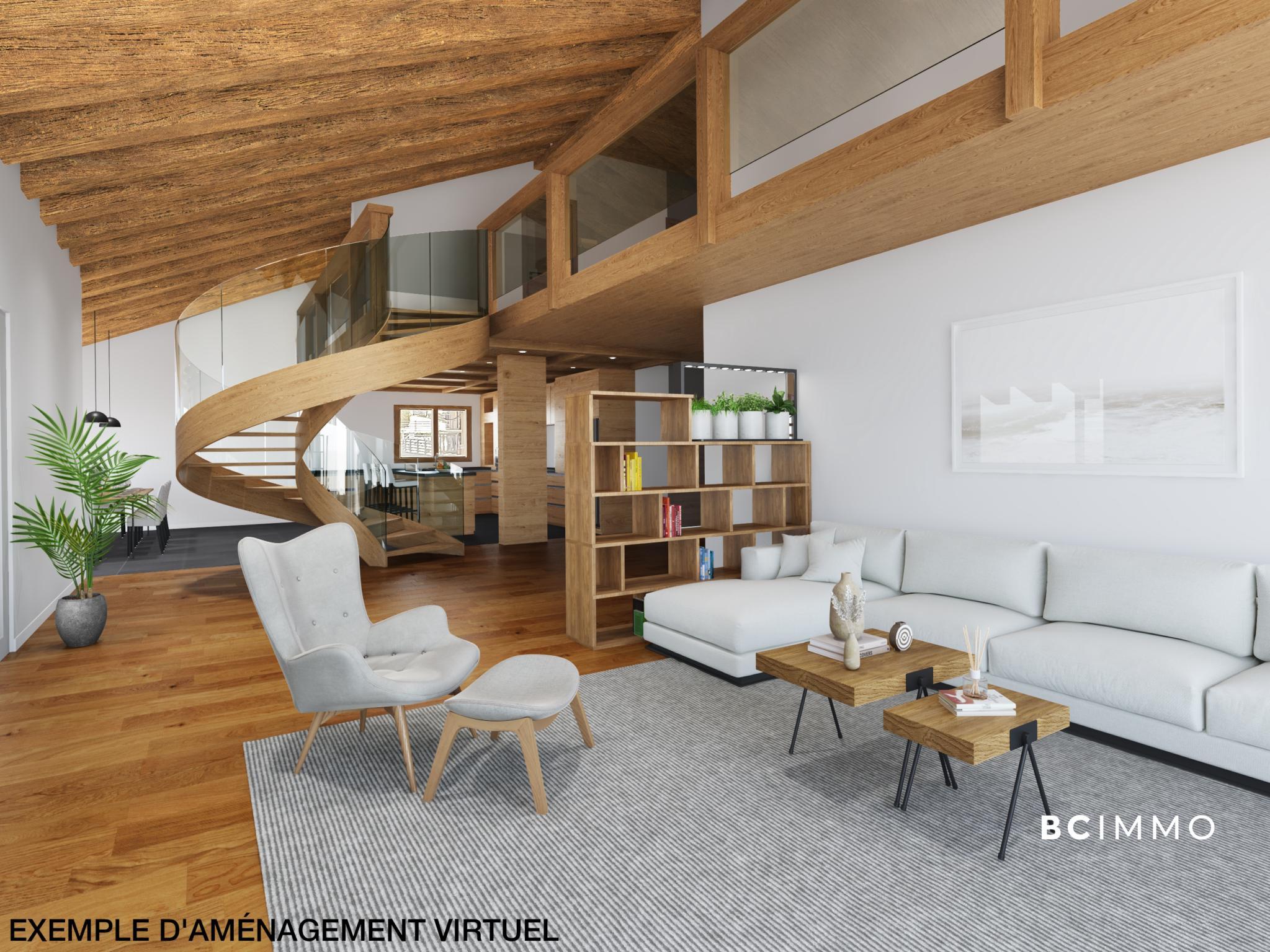 BC Immo - Luxueux appartement de 4.5 pièces à Crans-Montana - Les Mazots du Vallon - DCAMONT3
