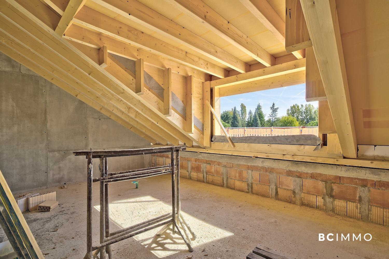 BC Immo - EN CONSTRUCTION - Magnifique projet de villas jumelles avec garage souterrain sur la commune de Jouxtens-Mézery - 1008KG64-1