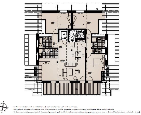 BC Immo - Appartement en attique | Le Domaine du Parc - 1854PARCB515