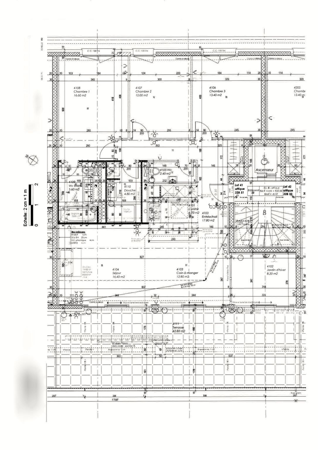 BC Immo - Attique de standing - 1092HB43