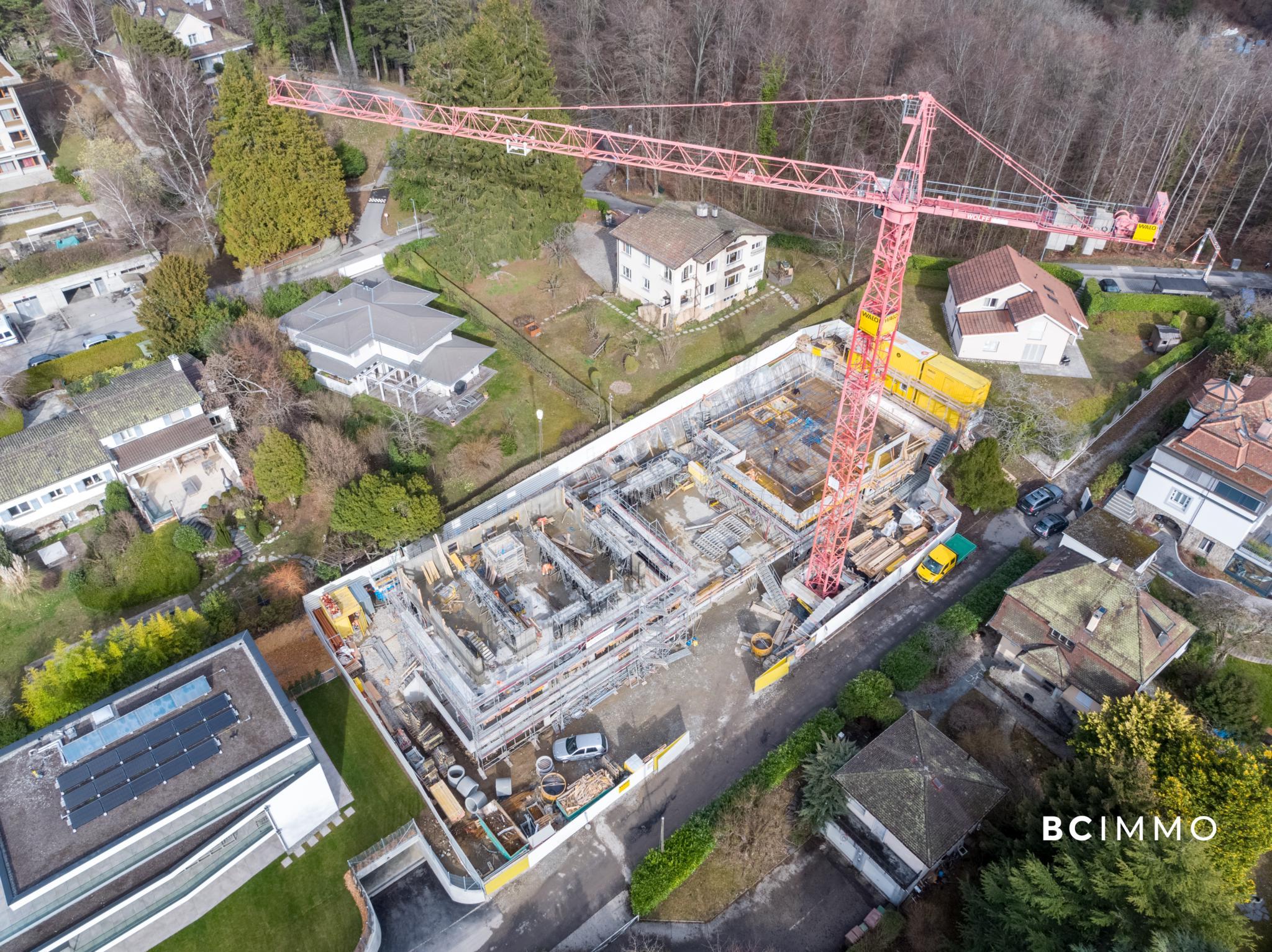 BC Immo - Magnifique appartement duplex en attique avec ascenseur privatif - 1009A3VIDA