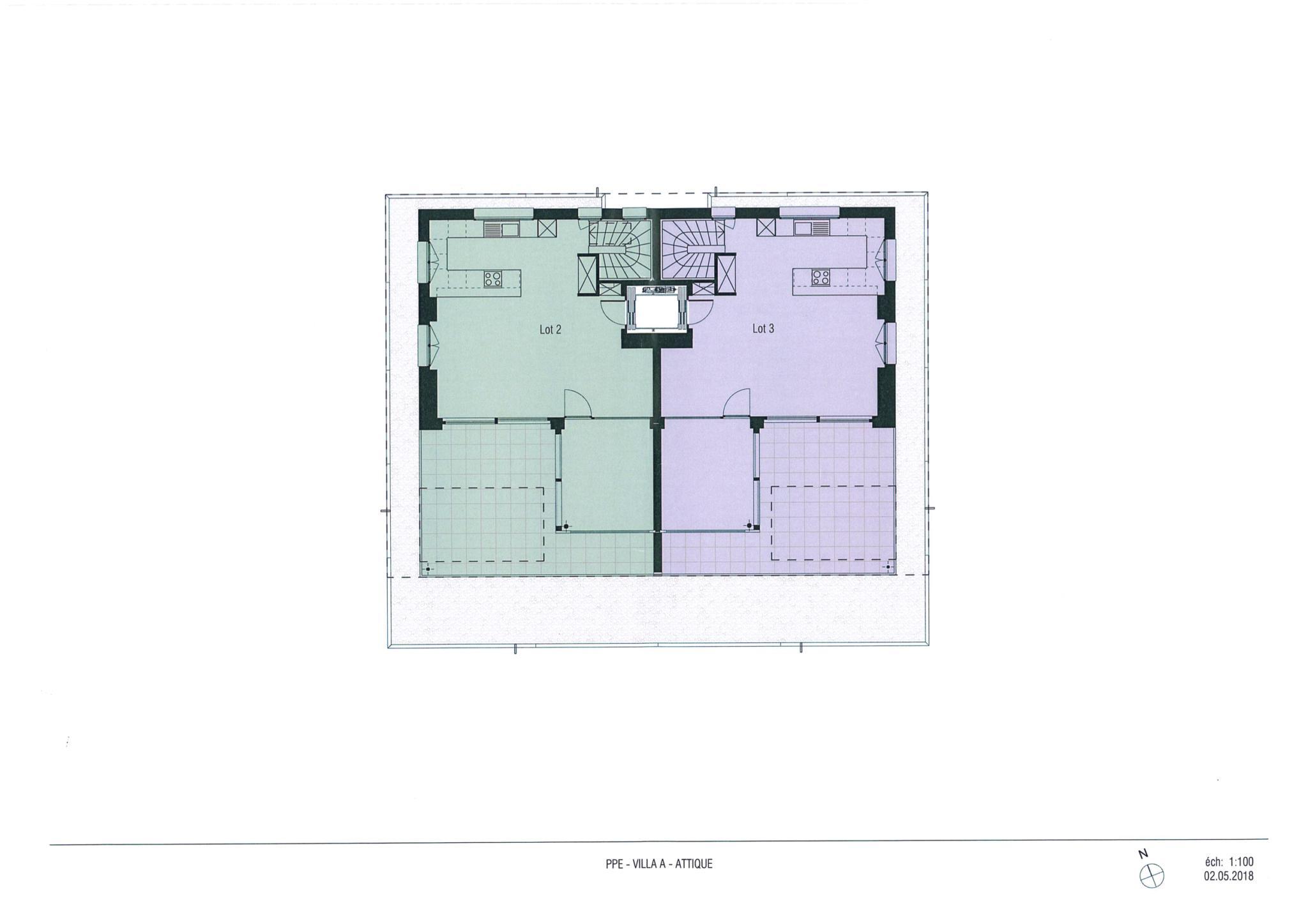 BC Immo - Magnifique appartement neuf avec ascenseur privatif - 1009A3VIDA