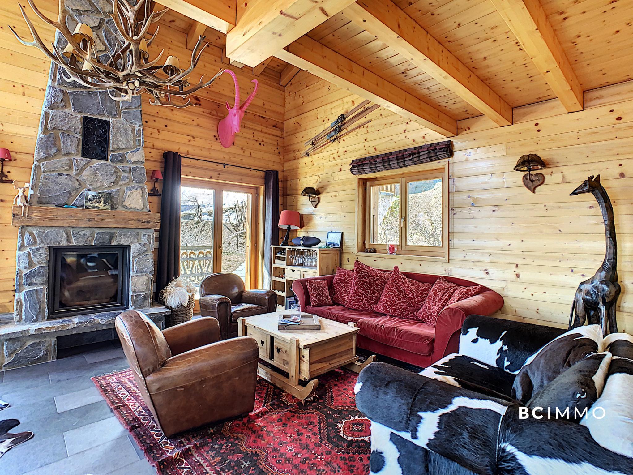 BC Immo - Magnifique chalet meublé idéalement situé aux Collons - GSICE1988