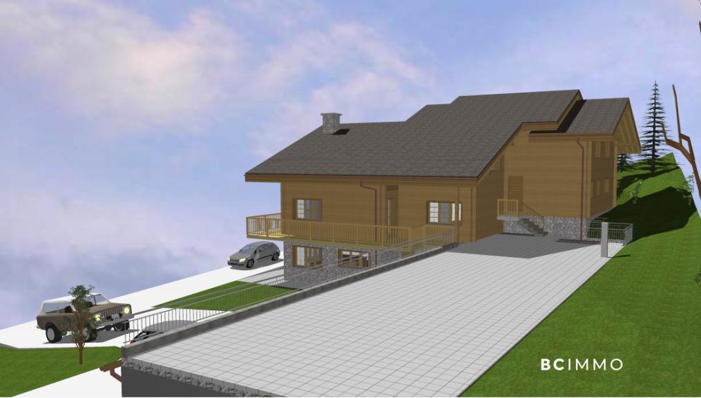 BC Immo - Sublime attique en duplex avec vue panoramique  - A-18-003d