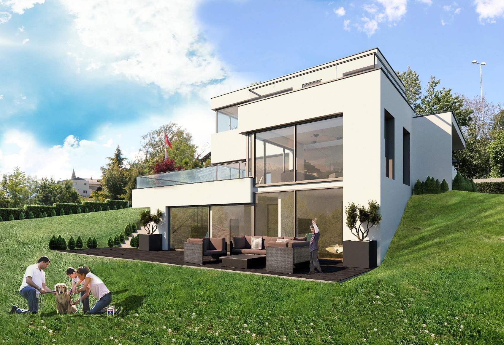 Villa de standing dès 3.5 pcs avec variantes de construction à choix