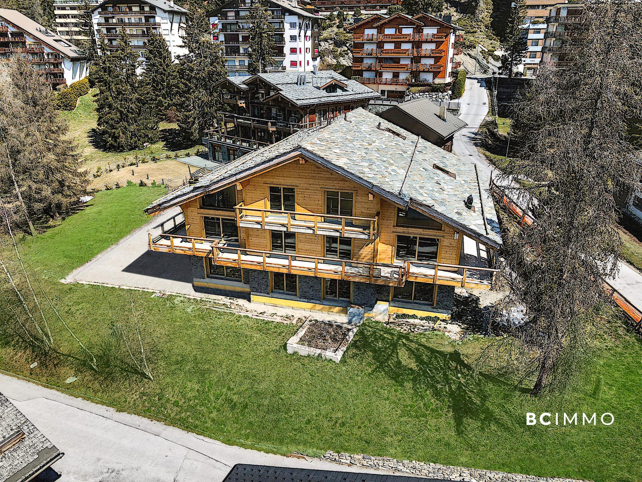 BC Immo - Luxueux appartement de 4.5 pièces à Crans-Montana - Les Mazots du Vallon - DCAMONT1
