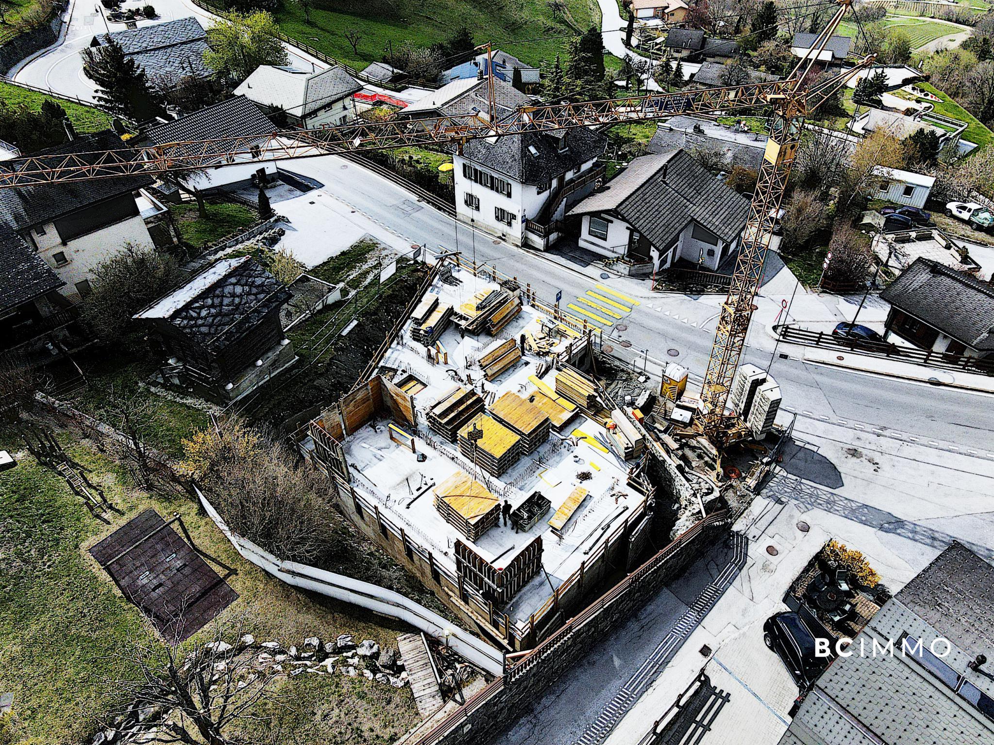 BC Immo - La Maison d'Adrien - Attique duplex 4.5 - DCICO6SAV77