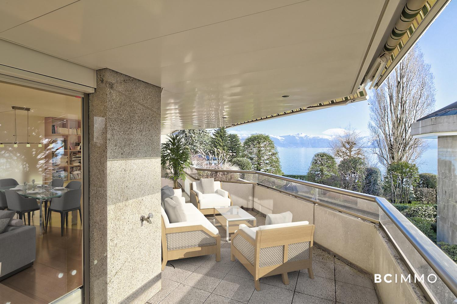 BC Immo - At the gates of South-eastern Lausanne - Beautiful apartment at a stone's throw from the lake - 1009KG23-3
