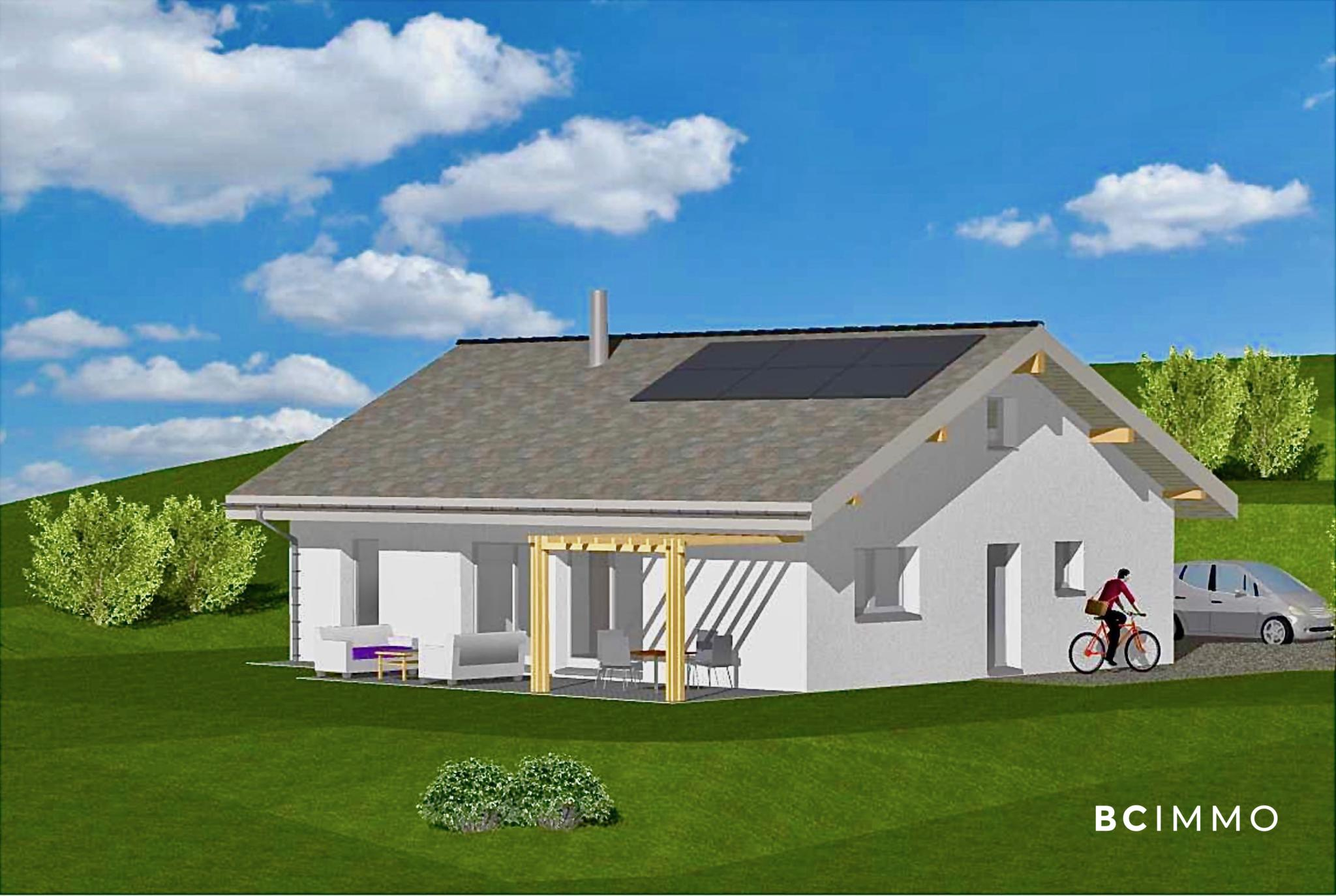 BC Immo - New project: Between town and countryside - Beautiful detached villa off-plan - 1264KG18