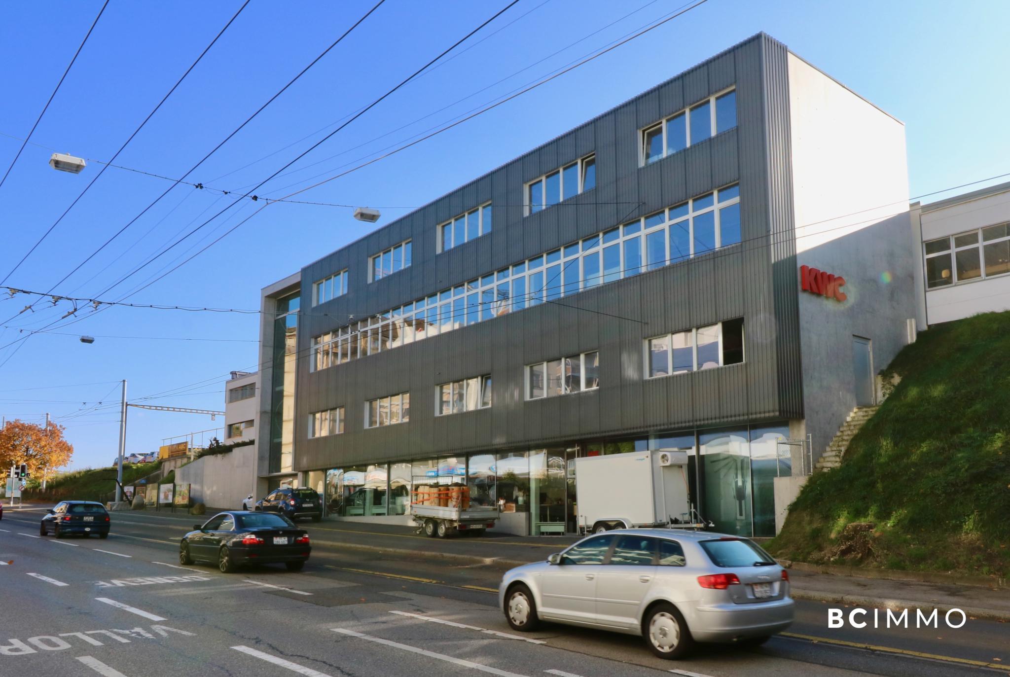 BC Immo - Locaux commerciaux | Avenue de Morges, Lausanne - 1004HBL149