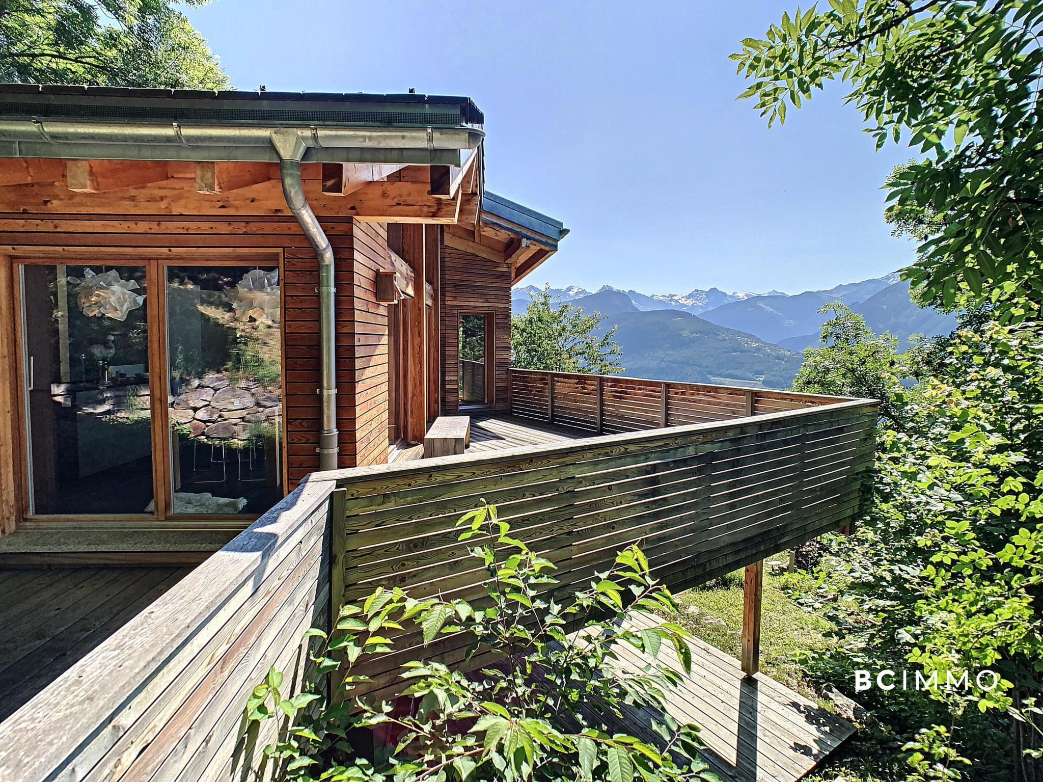 BC Immo - RESERVE - En pleine nature, sublime villa d'architecte  - VAL1928GS