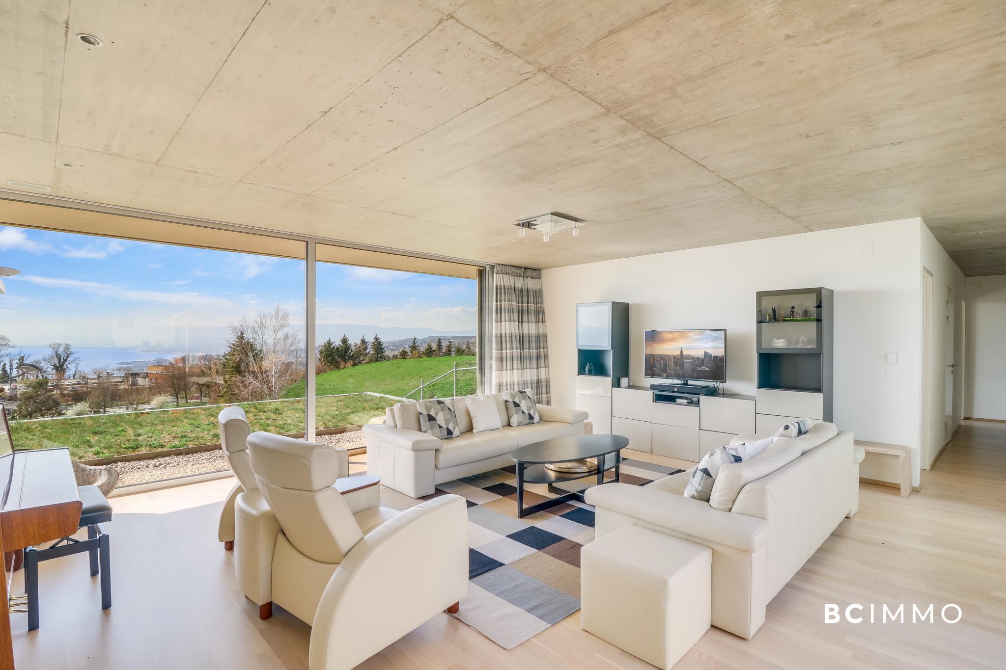BC Immo - Appartement contemporain avec vue panoramique - 1091HB21A