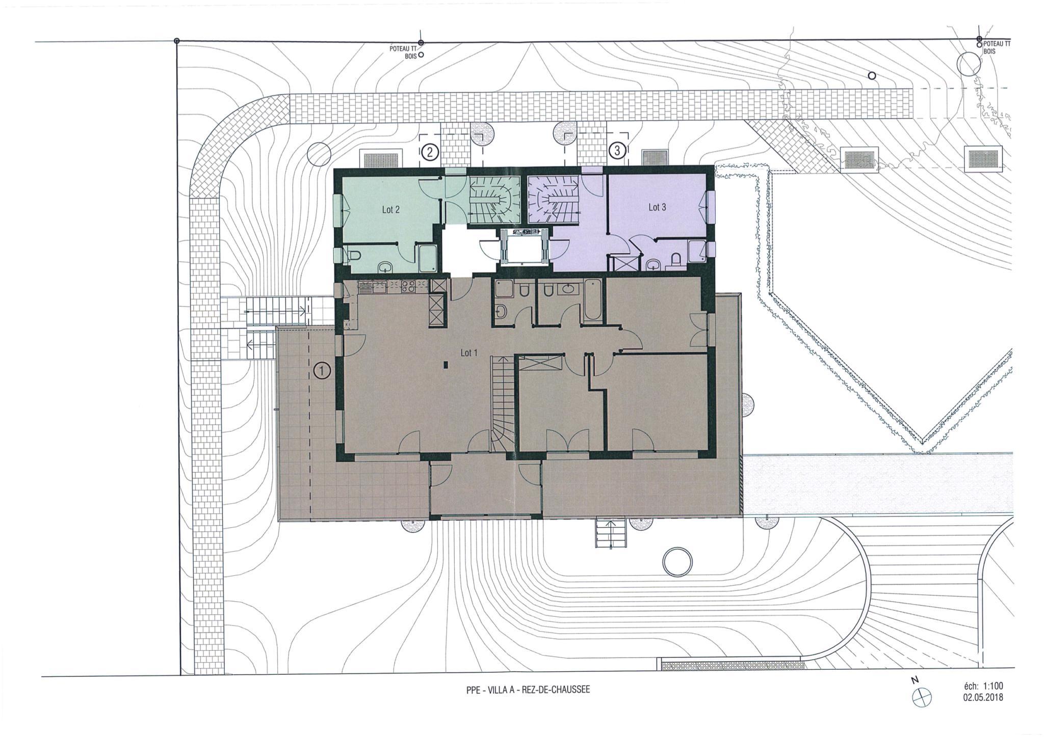 BC Immo - Appartement Triplex neuf avec ascenseur privatif - 1009A2VIDA