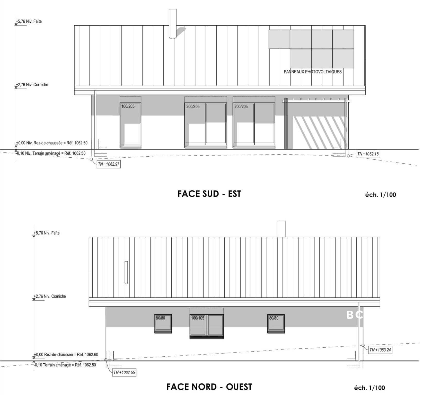 BC Immo - Nouveau projet : Entre ville et campagne - Belle villa Individuelle sur plan  - 1264KG18