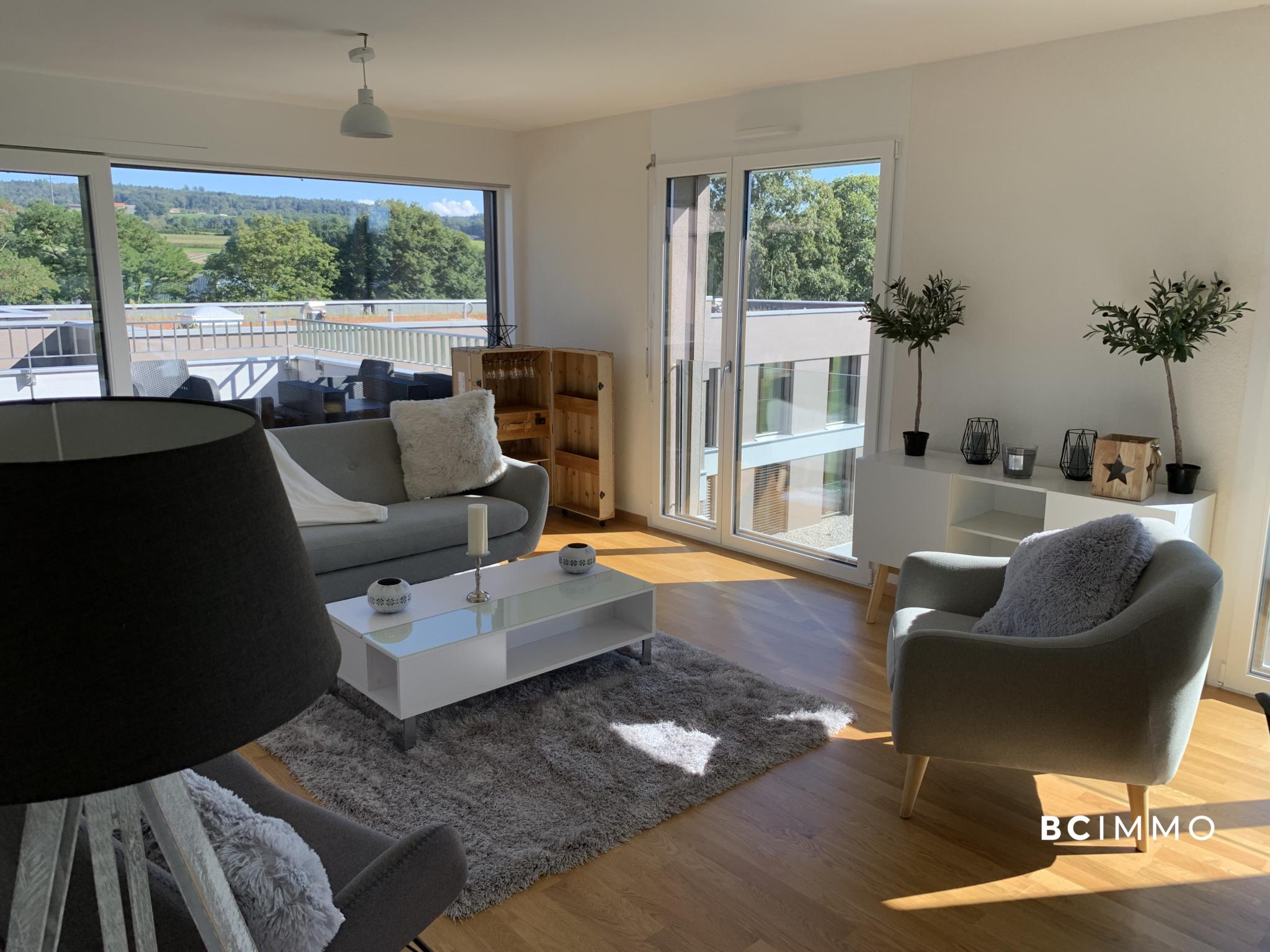 BC Immo - Appartement neuf en attique - C5-07