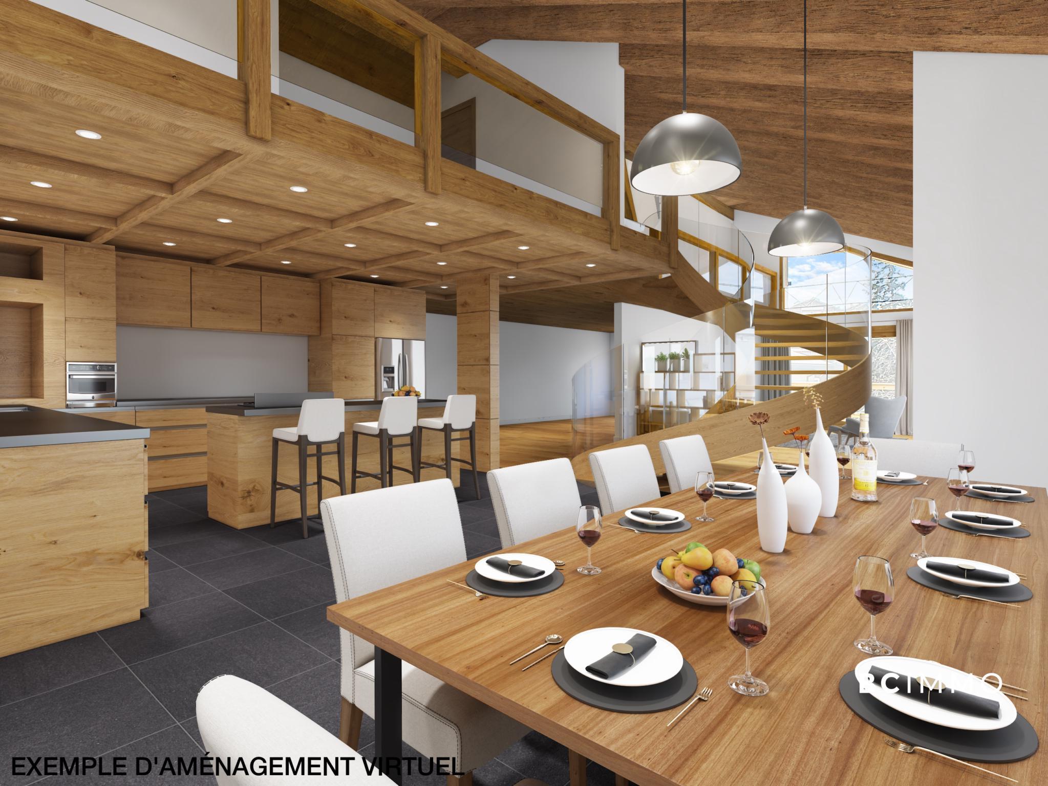 BC Immo - Luxueux appartement de 4.5 pièces à Crans-Montana - Les Mazots du Vallon - DC1AMON63